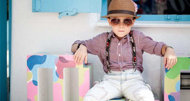 Polarisierte Pilotenbrille für Kinder
